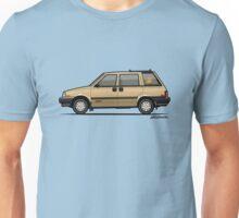 Nissan Stanza / Prairie 4wd Wagon Gold Unisex T-Shirt