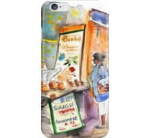 Cheese Stall In Siracusa iPhone Case/Skin