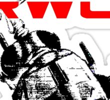 AIRWOLF One and the only Sticker