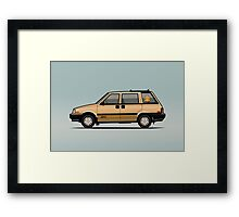 Nissan Stanza / Prairie 4wd Wagon Gold Framed Print