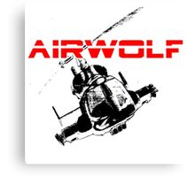 AIRWOLF One and the only Canvas Print