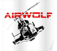 AIRWOLF One and the only Poster