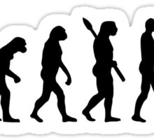 Evolution Farmer Sticker