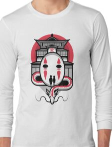 Spirited Haku and Chihiro Long Sleeve T-Shirt