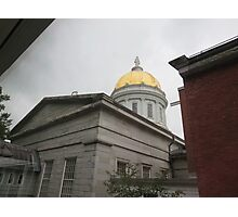 Vermont State House, rear view Photographic Print