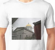 Vermont State House, rear view Unisex T-Shirt