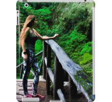 Checking Out The Chorros De Giron iPad Case/Skin