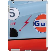 1969 Gulf Porsche 917, chassis 017/004 - driver side detail iPad Case/Skin