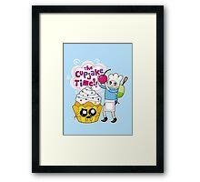 Cupjake Time!! Framed Print
