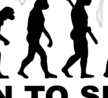 Evolution Figure skating Sticker