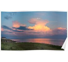 thunderstorm cloud Poster