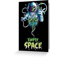 Empty Space Greeting Card