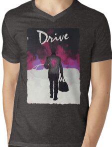 Drive Mens V-Neck T-Shirt