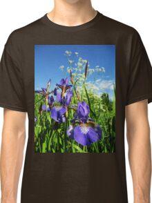 Summer Irises Classic T-Shirt