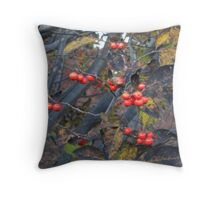 Autumnal Turn Throw Pillow