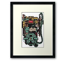 Proton pack (Ghostbusters) Framed Print