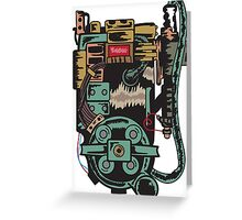 Proton pack (Ghostbusters) Greeting Card