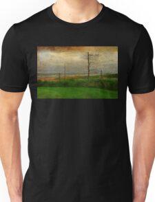 Desolate Beach Landscape | Stormy Seascape | PEI Canada Unisex T-Shirt