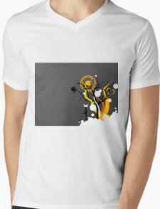 Vector art  Mens V-Neck T-Shirt
