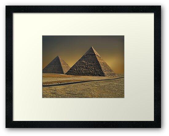 The Great Pyramid of Giza Cairo Egypt   by ✿✿ Bonita ✿✿ ђєℓℓσ