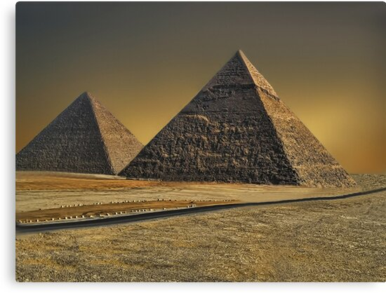 The Great Pyramid of Giza Cairo Egypt   by ✿✿ Bonita ✿✿ ђєℓℓσ