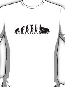 Evolution lawn mower T-Shirt