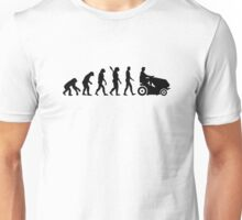 Evolution lawn mower Unisex T-Shirt