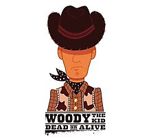 Woody the Kid Photographic Print