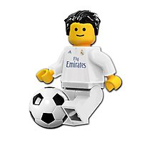 Lego Fan REAL MADRID Photographic Print