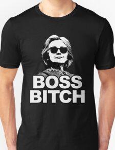 Hillary Clinton Boss Bitch Unisex T-Shirt
