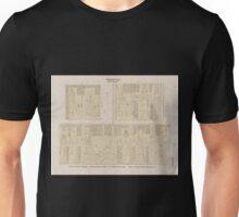0643 Ptolemaeer Ptol X Soter II Edfu Idfû Grosser Tempel a Westwand der Cella b Aeussere Westwand c Innnere Nordwand der Ringmauer Unisex T-Shirt