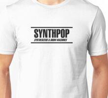 Synthpop black Unisex T-Shirt