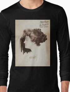 Performing Arts Posters Mary Shaw in The revelation 0130 Long Sleeve T-Shirt