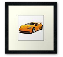 sport car Framed Print