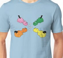 Hungry Hippos!! Unisex T-Shirt
