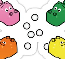 Hungry Hippos!! Sticker