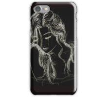 Femme endormie / sleeping woman iPhone Case/Skin