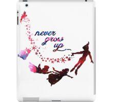 Never Grow Up Nebula  iPad Case/Skin