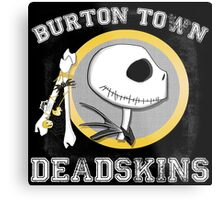 Burton Town Deadskins (Jack) Metal Print