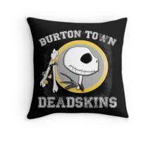 Burton Town Deadskins (Jack) Throw Pillow