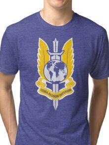 Star Trek 'Terran Empire' logo mashup Tri-blend T-Shirt
