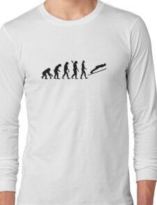 Evolution ski jumping Long Sleeve T-Shirt