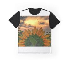 sunflower in the sunset Graphic T-Shirt