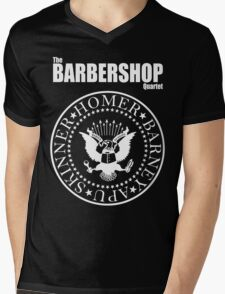Homer´s Barbershop Quartet Mens V-Neck T-Shirt