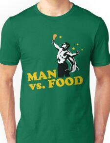 Man vs. food Unisex T-Shirt