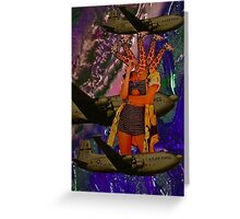 Space safari  Greeting Card
