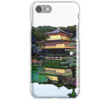 Zen Buddhist temple Kyoto Japan iPhone Case/Skin