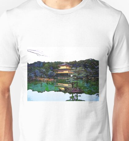 Zen Buddhist temple Kyoto Japan Unisex T-Shirt