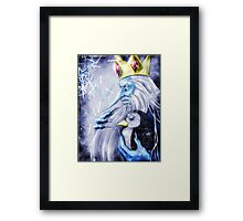 The Ice King Framed Print