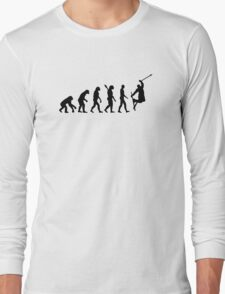 Evolution freestyle skiing Long Sleeve T-Shirt